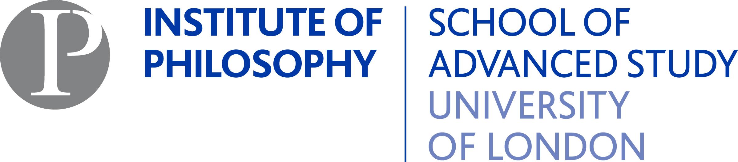 Logo of the Institute of Philosophy, School of Advanced Study, University of London