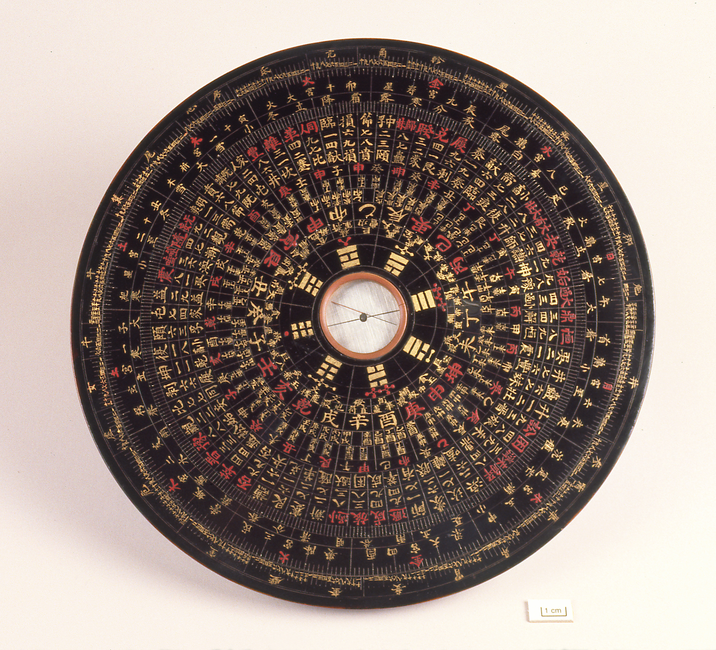 19th century Chinese astrological compass