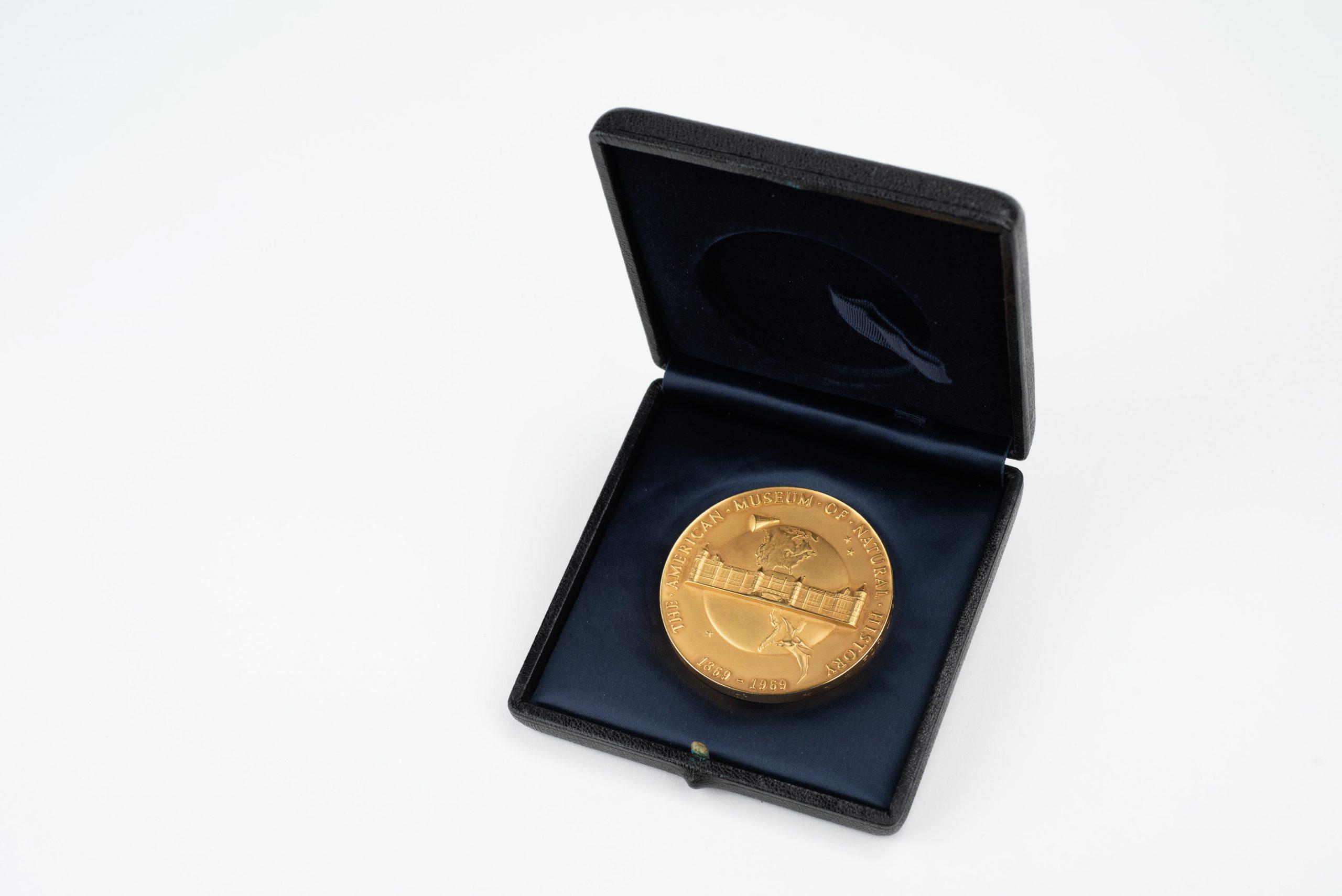 Libbie Hyman Medal (back view)